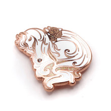 Load image into Gallery viewer, Desert Rose Arabian Horse Enamel Pin