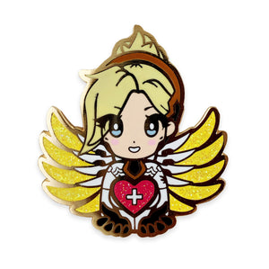 Overwatch Mercy Pocket Medic Enamel Pin