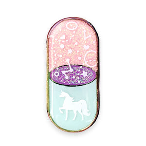 Unicorn Dust Rx Enamel Pin