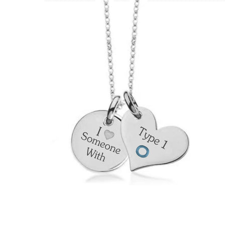 White Gold Plate with Sterling Silver Necklace-Not so sweet heart
