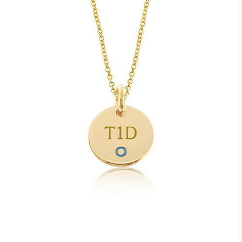 Yellow Gold Plate with Sterling Silver-Hang in there