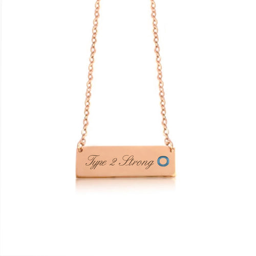 Rose Gold Plated with Sterling Silver-Oh High