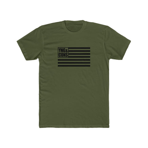 *Military Edition* Young & Conservative Flag T-shirt