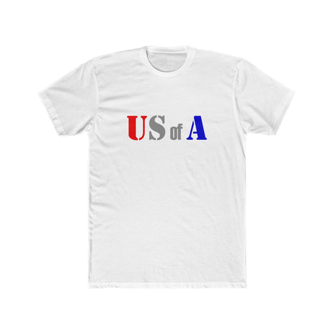 US of A Gray T-shirt