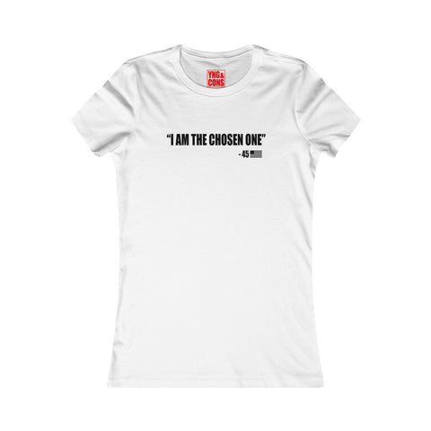 Women's I am the chosen one Black T-shirt