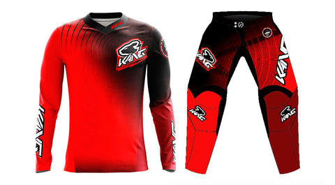 KANG RADIAL RED/BLACK KIT