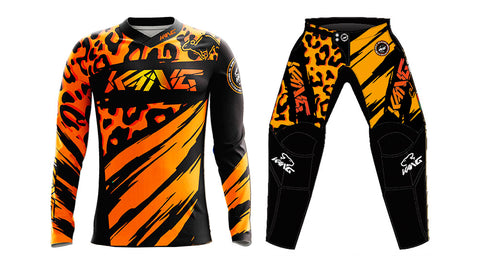 YOUTH KANG LIOPARD 2.0 ORANGE/BLACK KIT