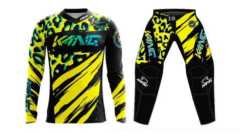 YOUTH KANG LIOPARD 2.0 YELLOW/BLACK KIT