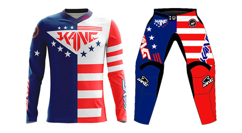 YOUTH KANG PATRIOT BLUE/RED KIT