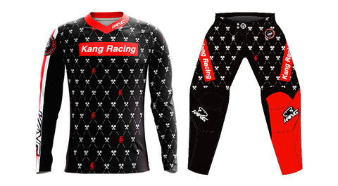 YOUTH KANG Monogram SPRME Black/White KIT