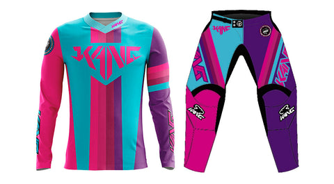 YOUTH KANG COLORMETRIK PINK/PURPLE KIT