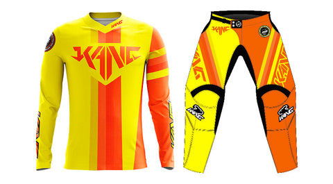 YOUTH KANG COLORMETRIK YELLOW/ORANGE KIT