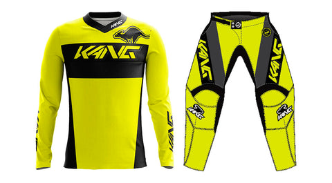 YOUTH KANG TEAM FLO YELLOW KIT
