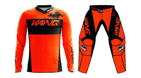 YOUTH KANG TEAM FLO ORANGE KIT