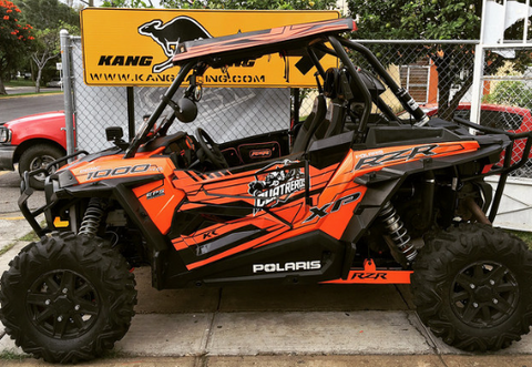 KR GFX side by side (RZR o CAN AM)