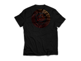 KR RACEWEAR LOGO BLACK/COPPER TEE