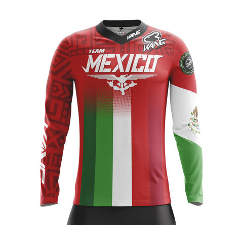 JERSEY KANG TEAM MEXICO RED 2020
