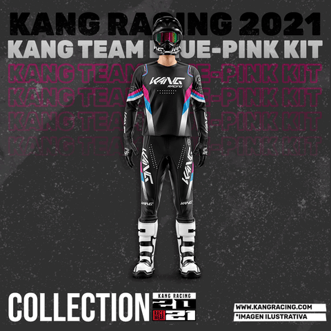 KANG TEAM BLUE-PINK KIT