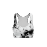 TOP KARDIO K-FLEX DAMA SPORTS BRA TIEDYE BLACK PRINT