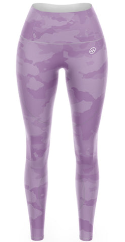 LEGGINGS KARDIO K-FLEX DAMA PREMIUM CAMO PURPLE PRINT