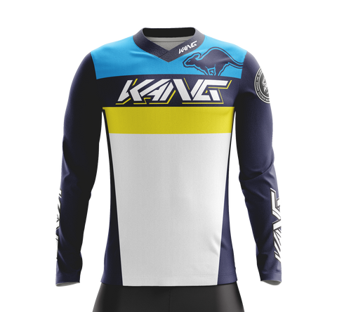 JERSEY KANG TEAM BLUE/YELLOW