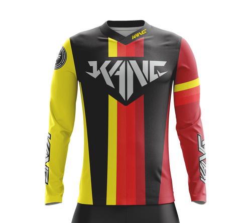 JERSEY KANG COLORMETRIK RED/YELLOW