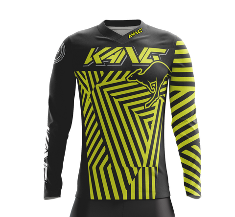 JERSEY KANG DAZZLE CAMO FLOW YELLOW