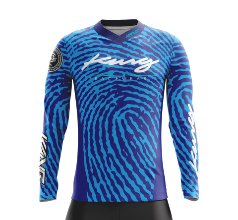 JERSEY KANG FINGERPRINT BLUE