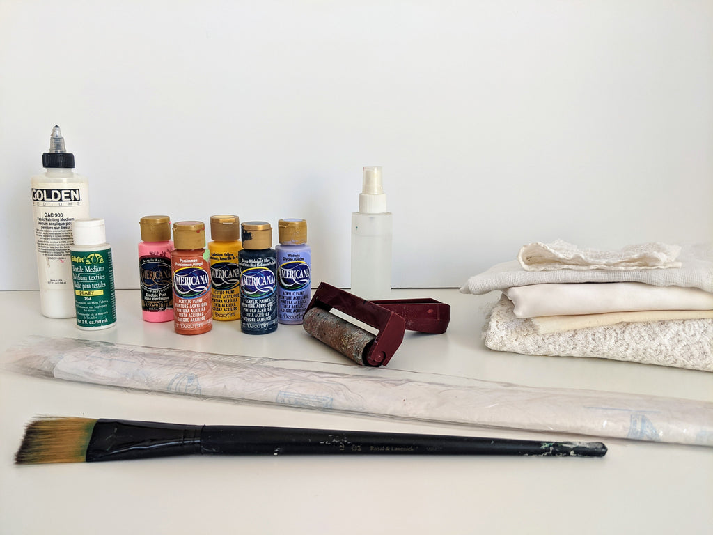 simple fabric painting supplies