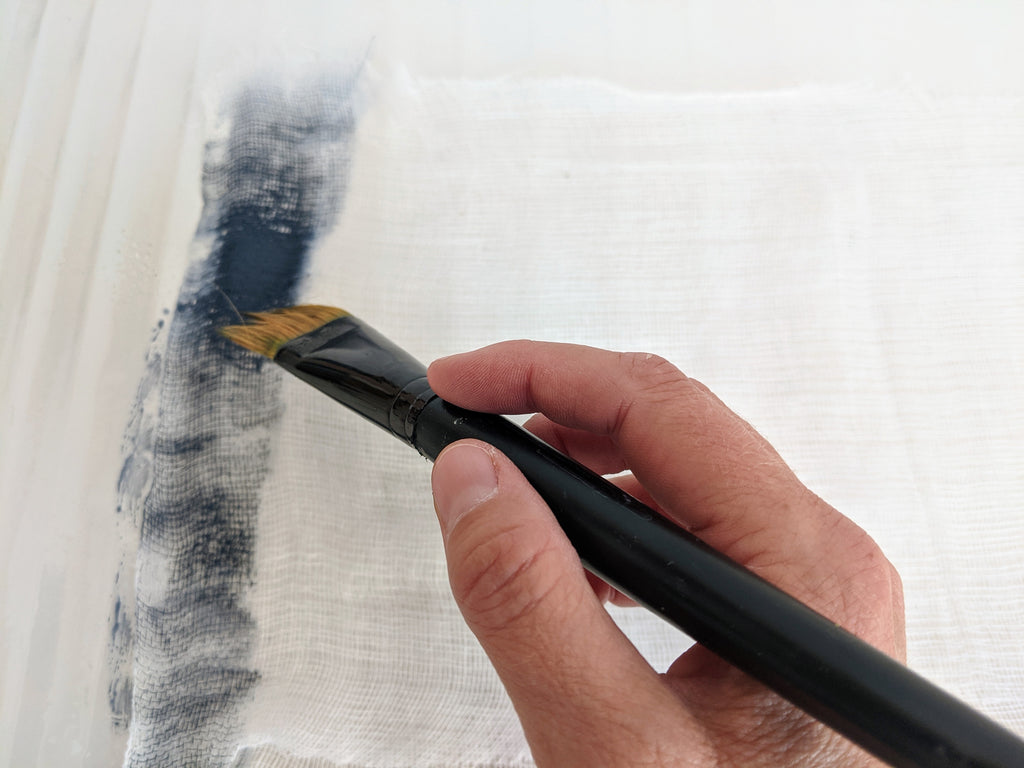 simple fabric painting technique