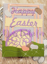 Load image into Gallery viewer, Dies ... to die for metal cutting die - Decorative Easter Egg trio