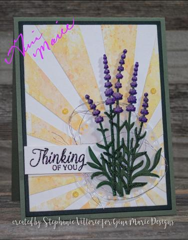 Gina Marie Metal cutting die - LAVENDER BUNDLE