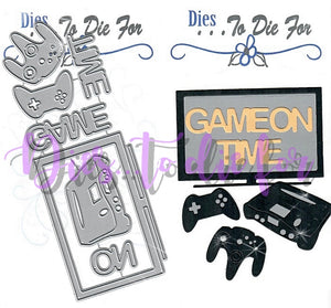 Dies ... to die for metal cutting die - Video Game and Television TV