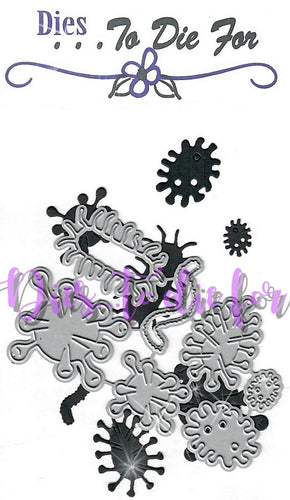 Dies ... to die for metal cutting die - Germs / Virus structure
