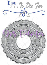 Load image into Gallery viewer, Dies ... to die for metal cutting die - Ruffle Edge Circle set