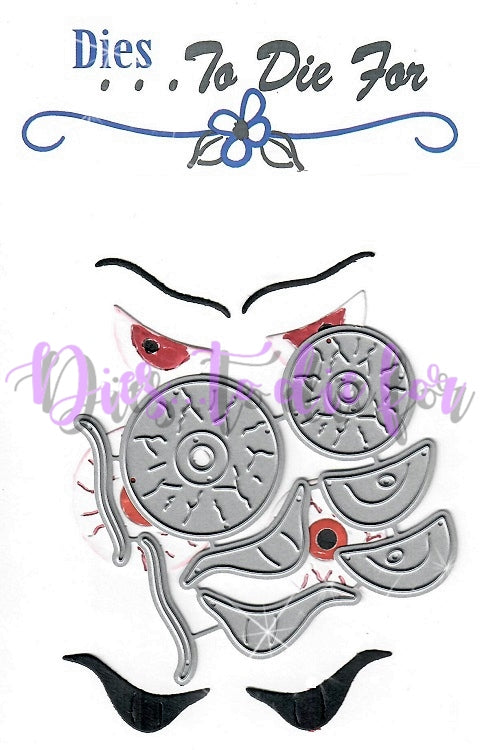 Dies ... to die for metal cutting die - Creepy Eyes - Eye balls