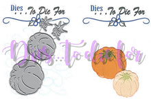 Load image into Gallery viewer, Dies ... to die for metal cutting die - Pumpkins round