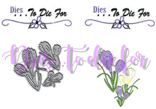 Load image into Gallery viewer, Dies ... to die for metal cutting die - Crocus Spring Flower