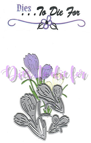 Dies ... to die for metal cutting die - Crocus Spring Flower