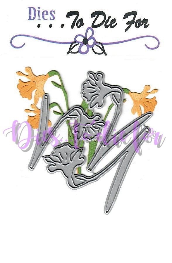 Dies ... to die for metal cutting die - Daffodils Spring Flower