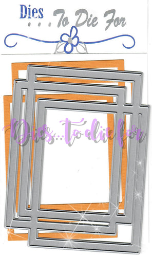 Dies ... to die for metal cutting die - Random Rectangle Frame