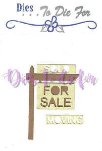 Dies ... to die for metal cutting die - For Sale Sign