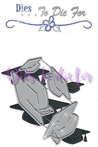 Dies ... to die for metal cutting die - Grad cap set - Graduation