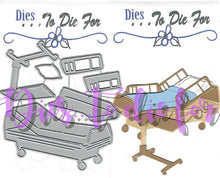 Load image into Gallery viewer, Dies ... to die for metal cutting die - Hospital Bed and Tray