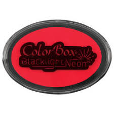 ColorBox Black Light Neon Oval ink pad - Choose Color