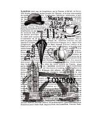 Artemio rubber cling stamp - unmounted - London