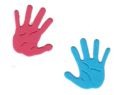 Dies ... to die for metal cutting die - Baby Hands - Hand prints