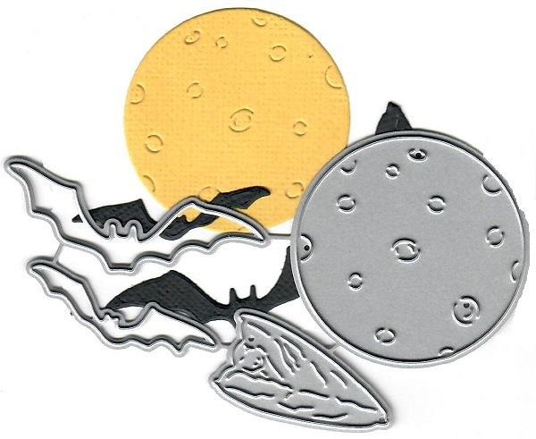 Dies ... to die for metal cutting die - Bats and Moon