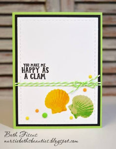 Gina Marie Clear stamp set - Beach layered