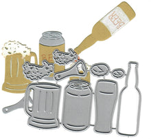 Load image into Gallery viewer, Dies ... to die for metal cutting die - Beer Set